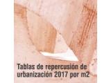Nuevas Tablas de Repercusión de Urbanización