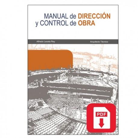 Manual de dirección y control de obras