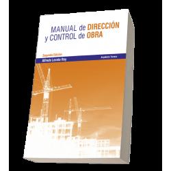MANUAL DE DIRECCIÓN Y CONTROL DE OBRA