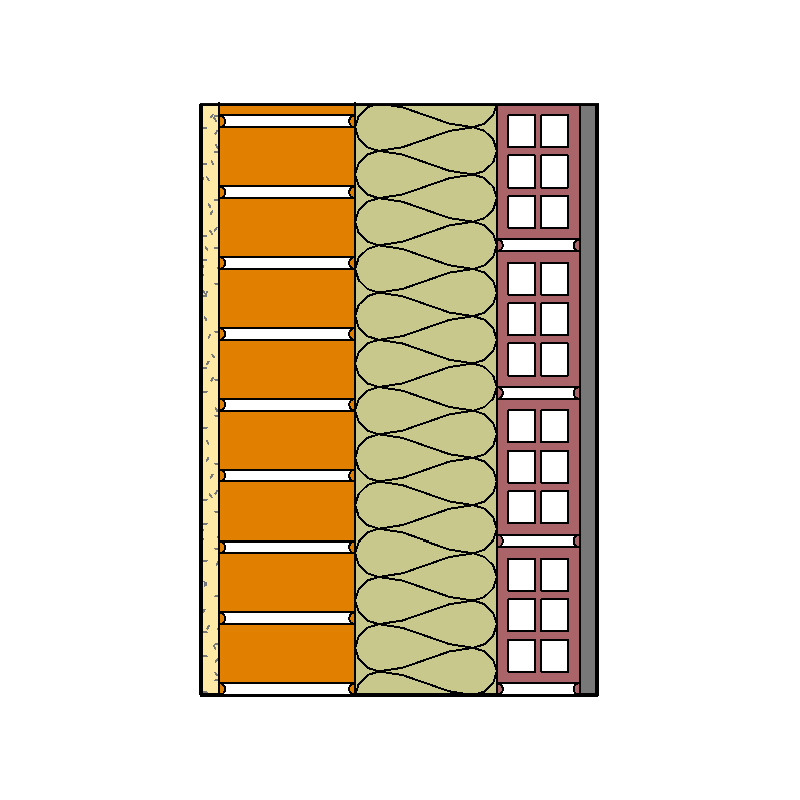 Soluciones familias bim revestimiento continuo precio centro - Ladrillo ceramico perforado ...